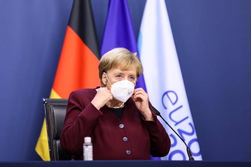 Angela Merkel, canciller de Alemania   Foto: Cortesía El Colombiano
