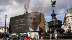 Príncipe Felipe Foto AFP