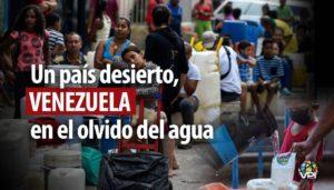 Escasez y contaminación: el problema del agua en Venezuela