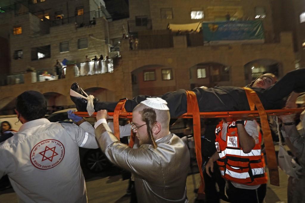 Al menos 60 heridos tras el colapso de unas gradas en una sinagoga de  Jerusalén - VPITV