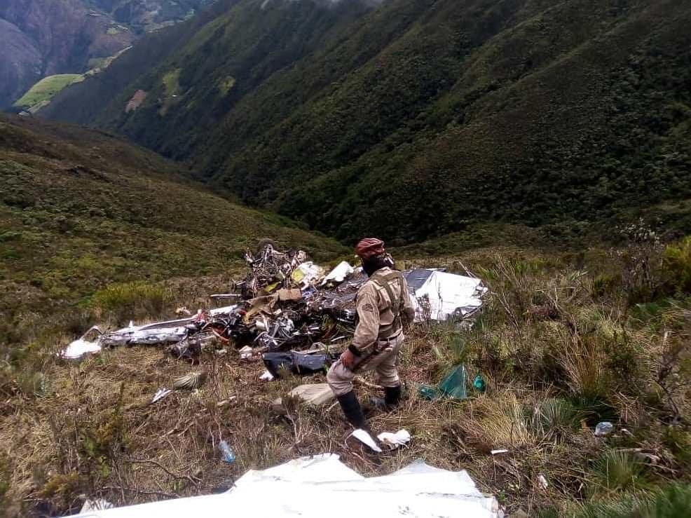 Sinestro de avioneta dejó al menos dos muertos en Táchira