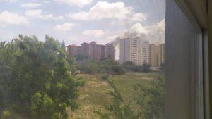 Se registró incendio en un apartamento al oeste de Barquisimeto
