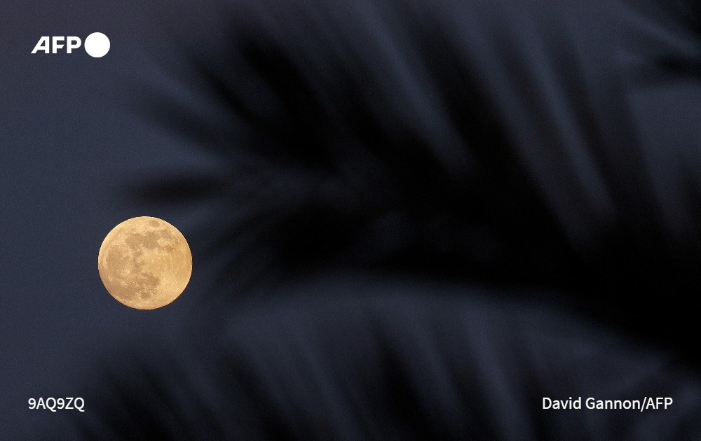 """Así se vio en el mundo la superluna, luna llena y el eclipse de """"luna de sangre"""""""