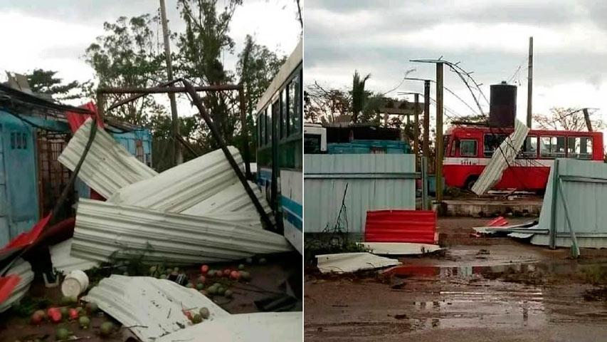 Tornado en Cuba | Foto: Cortesía
