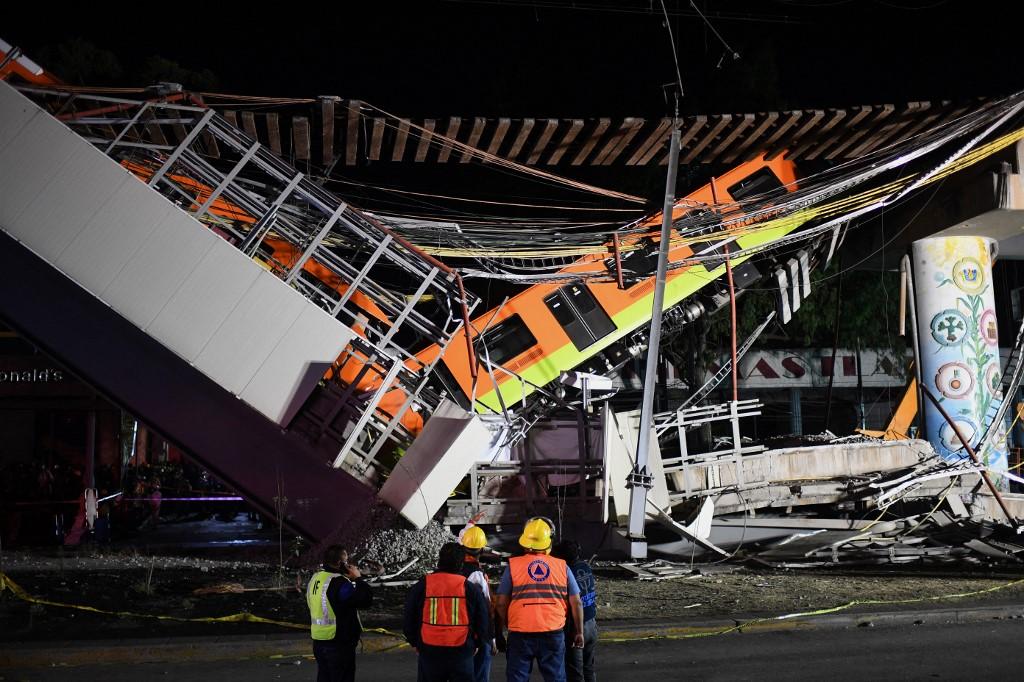 Accidente ferroviario en Ciudad de México