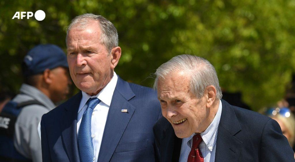 Donald Rumsfeld AFP