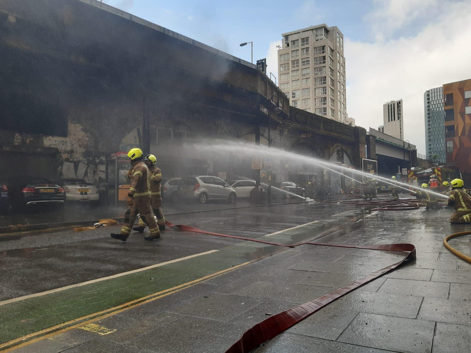 Explosión Londres