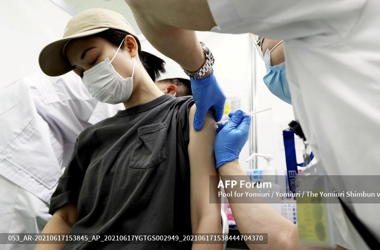 Japón Vacunación