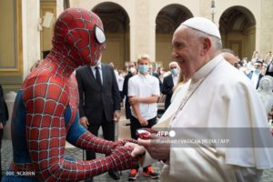 Papa Francisco Spiderman