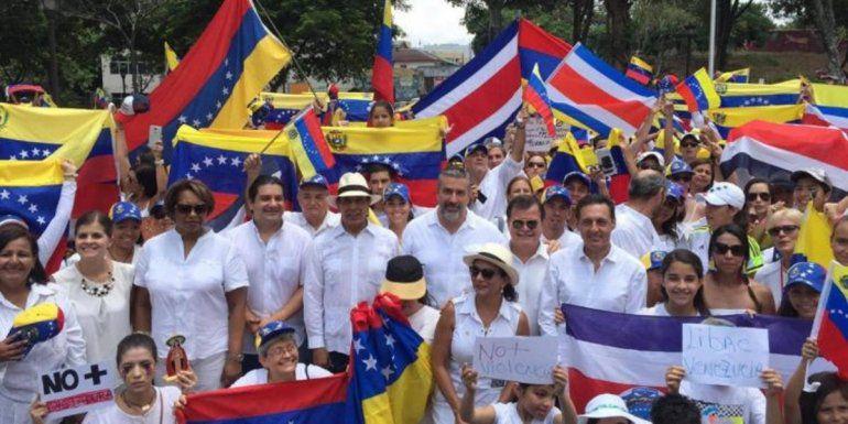 Costa Rica Venezuela