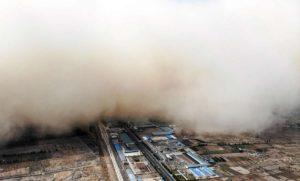 Tormenta China Foto AFP