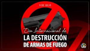 Día Internacional de la Destrucción de las Armas de Fuego