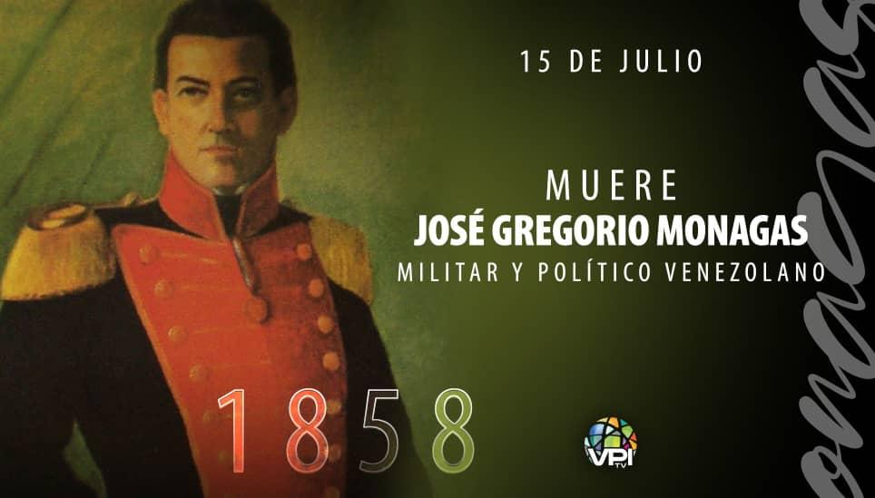 José Gregorio Monagas