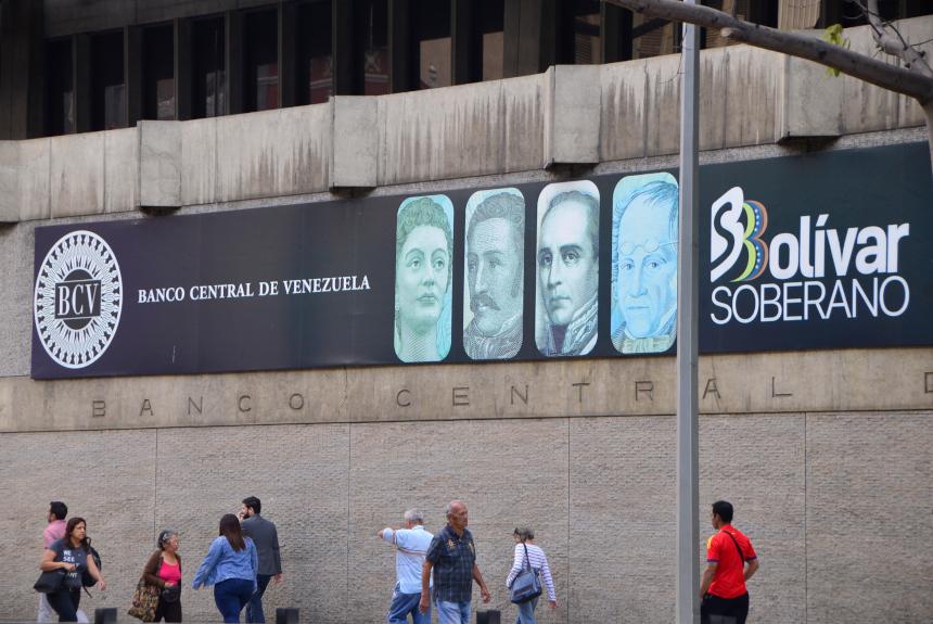 Banco Central de Venezuela septiembre - Oro
