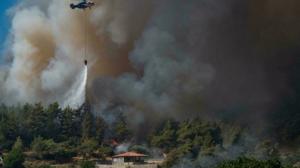Incendios Turquía
