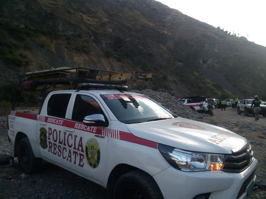 Accidente en Perú autobús