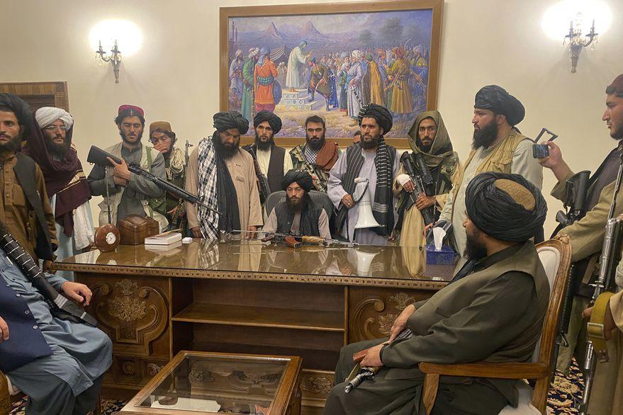 Talibanes Guerra - Gobierno