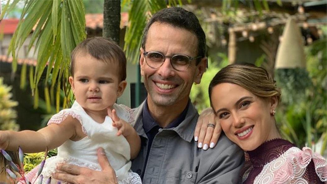 Nació Lili Margarita, la segunda hija de Capriles Radonski y Valeria Valle