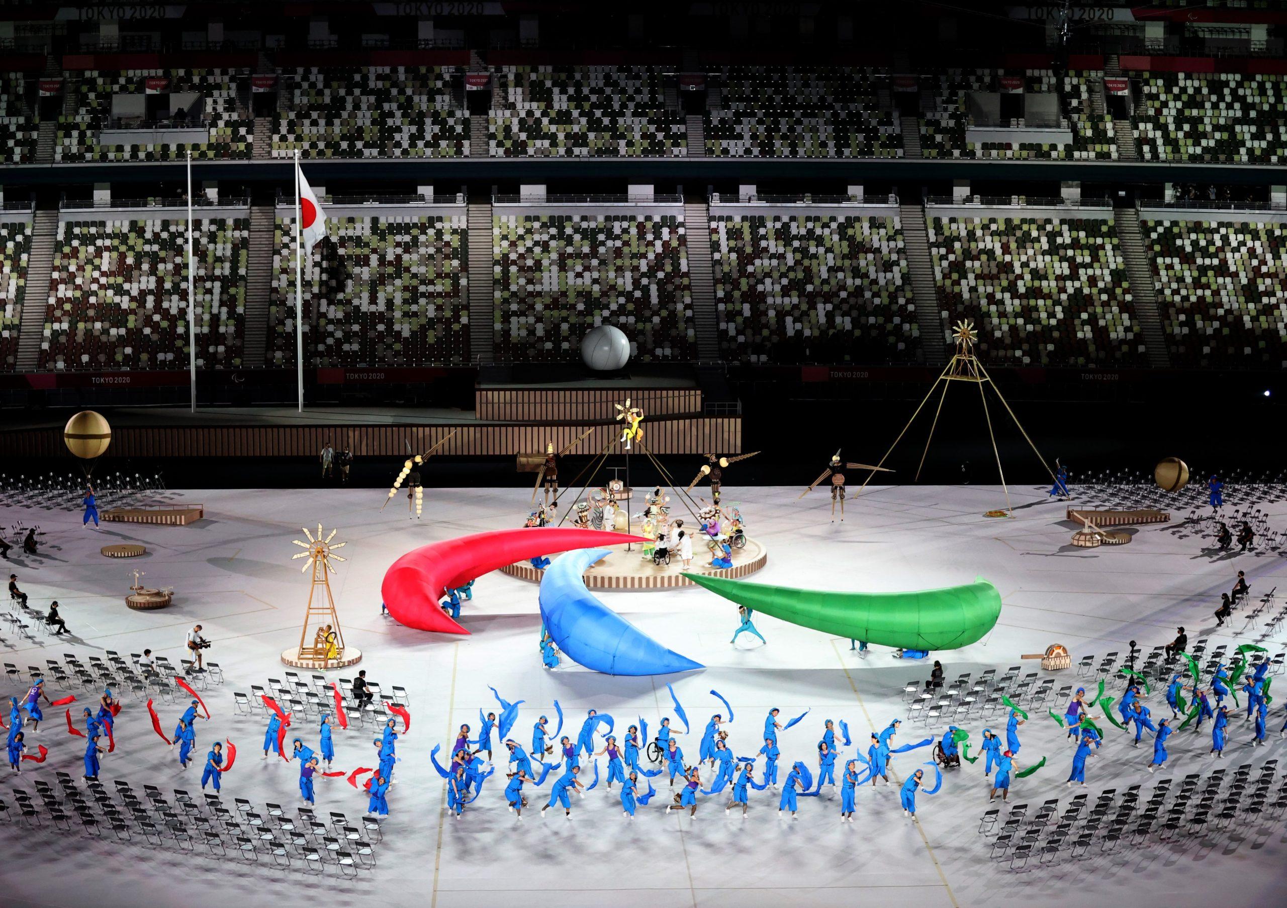 ceremonia juegos paralímpicos