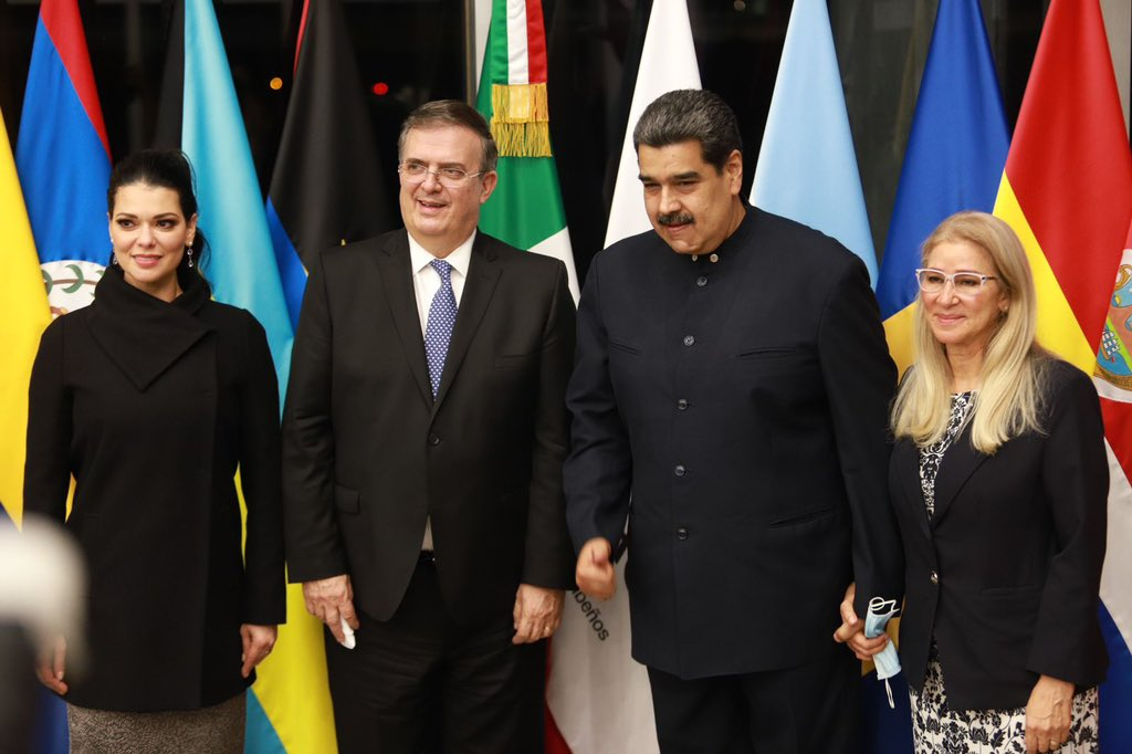 Celac 2021. Foto: Secretaría de Relaciones Exteriores de México.