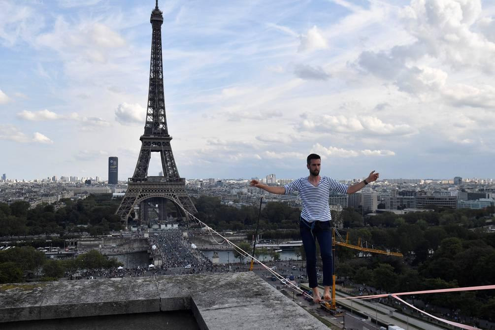 Francia París Equilibrista
