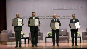 Negociación política para Venezuela en México