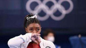Simone Biles Juegos Olimpicos Tokio 2020. Foto: AFP