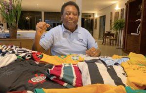 Pelé, ganador de tres Copas del Mundo con Brasil. Foto:Instagram/Pelé