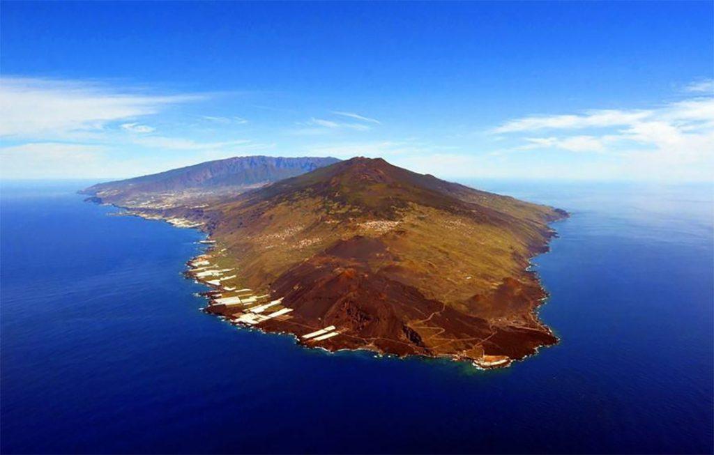 Panorámica del volcán Cumbre Vieja. Foto: Involcan