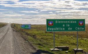 Frontera de Chile. Foto: Twitter