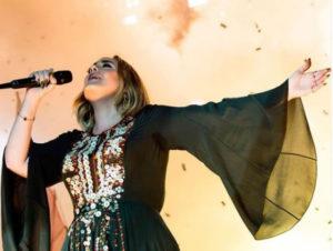 Adele. Foto: Instagram