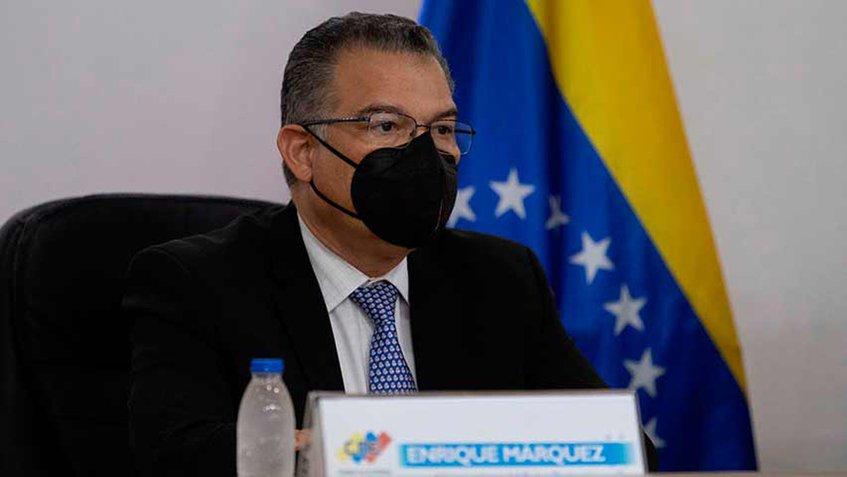 Enrique Márquez, rector del CNE. Foto: Twitter