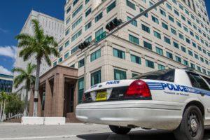 Policía del Doral. Foto: Twitter