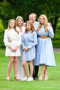 Familia real de Países Bajos.
