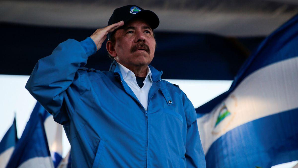Daniel Ortega, presidente de Nicaragua. Foto: Twitter