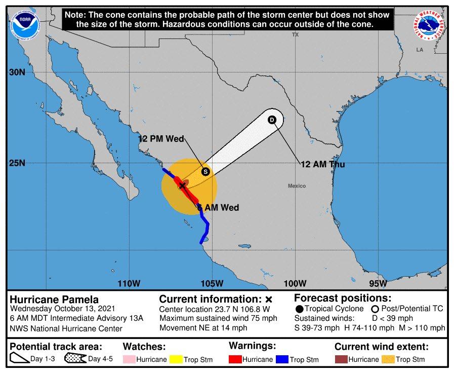 Foto: Servicio Meteorológico de Estados Unidos.