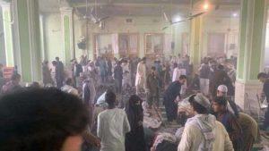Atentado en Kandahar. Foto: Twitter