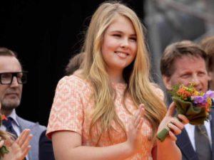 Princesa Amalia de Orange.