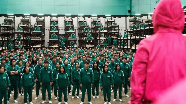 """Fotograma de la serie surcoreana """"El juego del calamar"""", uno de los productos más populares en la historia de Netflix YOUNGKYU PARK Netflix/AFP"""