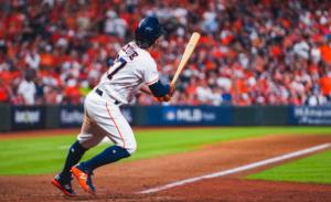 José Altuve es figura destacada de los Astros de Houston. Foto: MLB