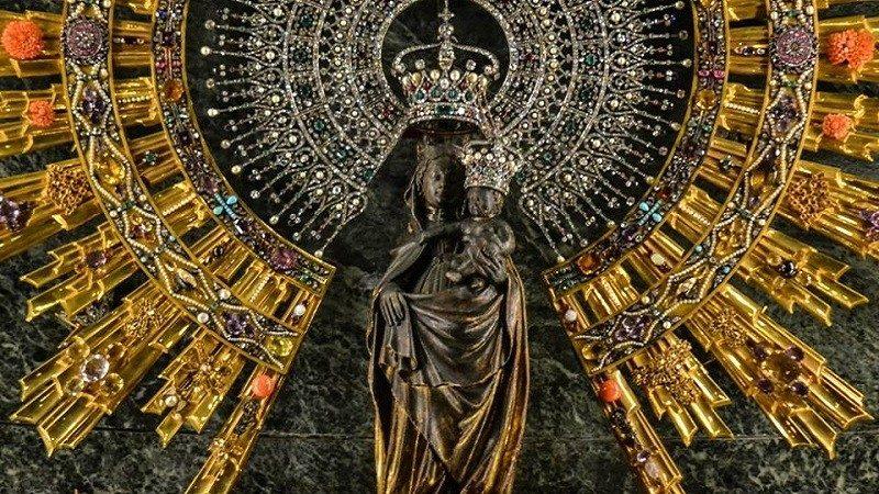 Virgen del Pilar. Foto: Vatican News
