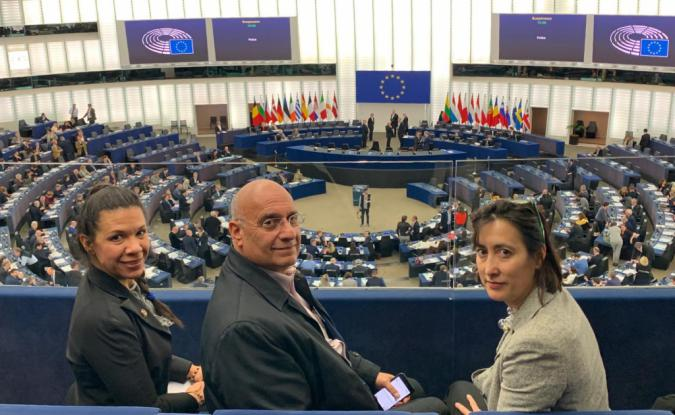 Dip. Dávila sobre respaldo del Parlamento Europeo: representa nueva etapa de ofensiva internacional
