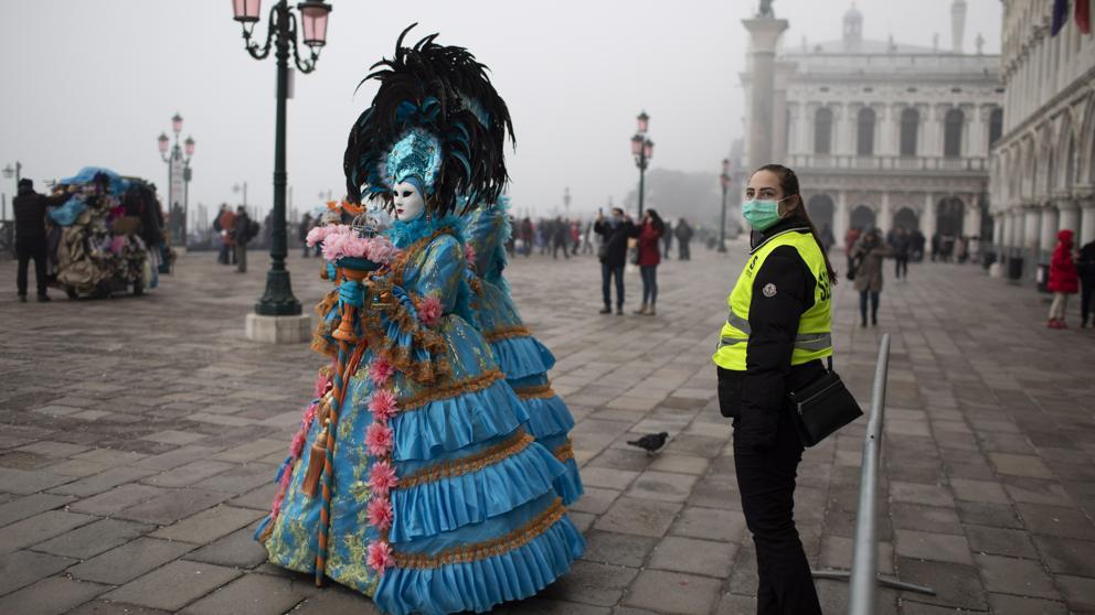 Suspendidos carnavales en Venecia: población en alerta por brote de coronavirus (Covid-19)
