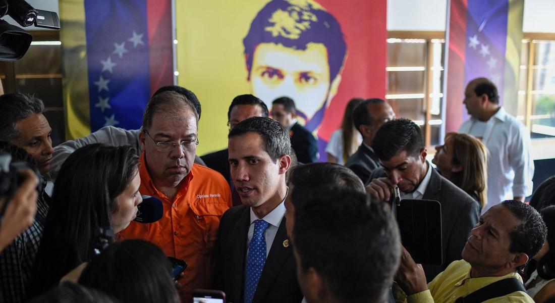 A seis años de su entrega, Guaidó valoró la firmeza de Leopoldo López. Foto: AFP