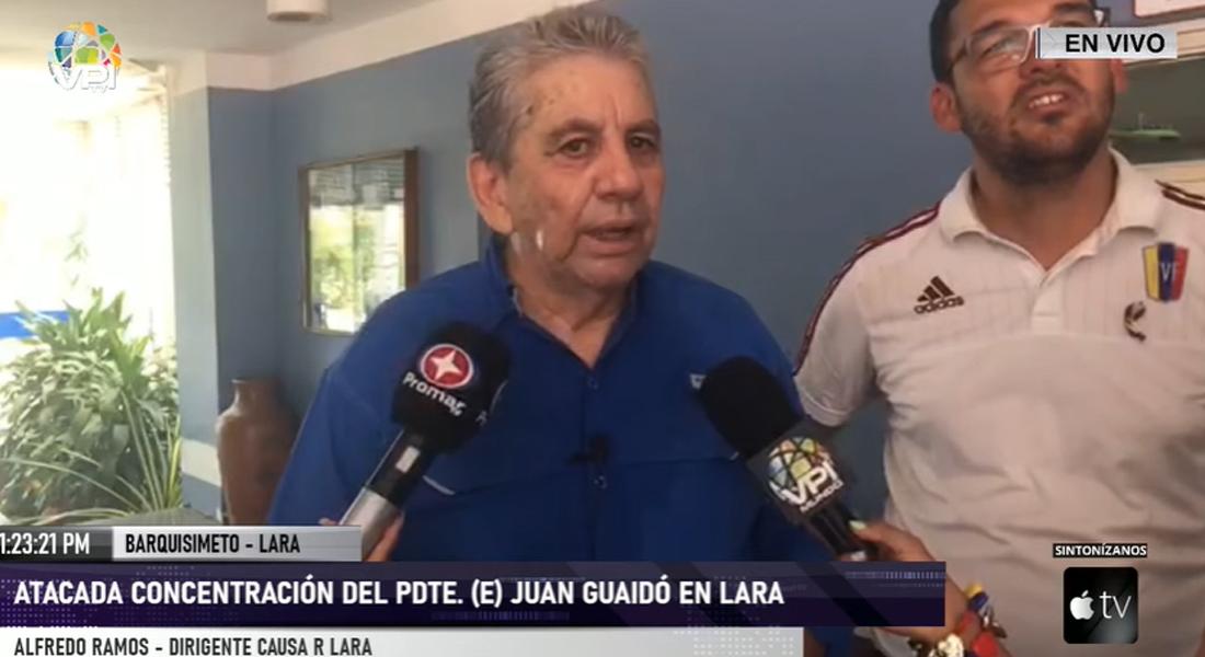 Alfredo Ramos responsabilizó al régimen de Maduro por ataque a concentración de Guaidó en Lara