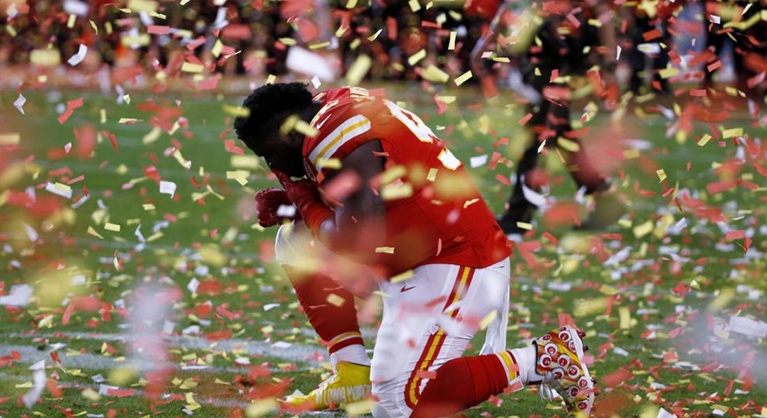 Audiencia del Super Bowl en TV aumentó casi un 2% respecto del 2019. Foto: AP
