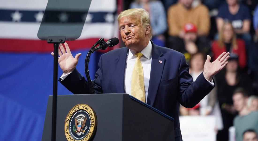 Campaña de reelección de Trump demandó al New York Times por difamarlo