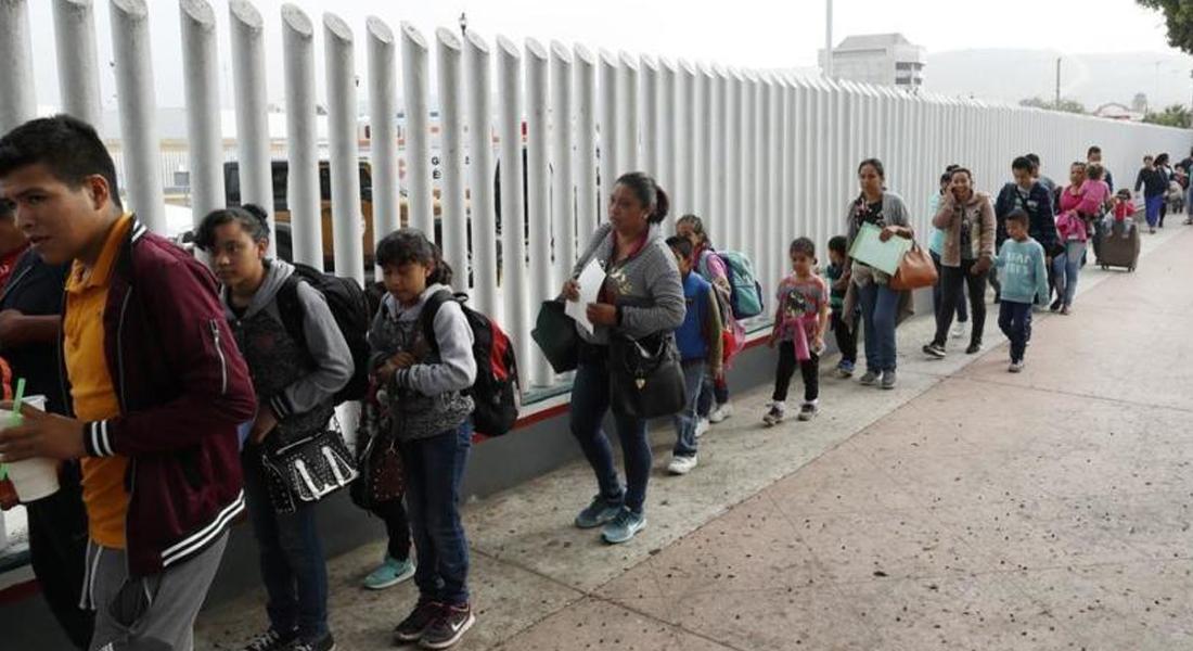 Corte invalidó política de Trump de devolver a México a solicitantes de asilo. Foto: Los Angeles Time