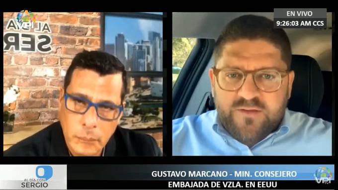 venezolanos - Gustavo Marcano | Foto: VPItv