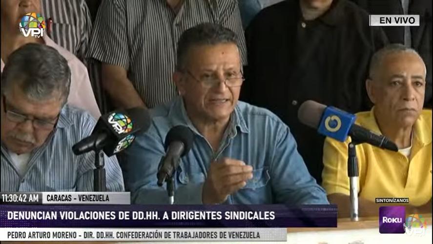 Dirigentes sindicales solicitaron atención médica para Rubén González